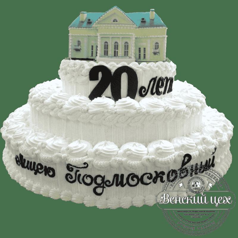 Торт на корпоратив «Лицей» №1