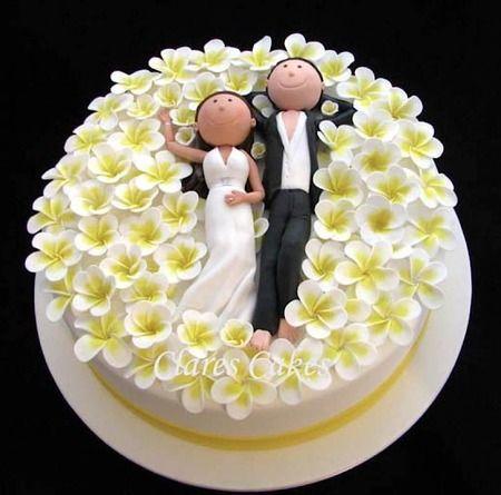 Торт  на свадьбу  № 1001