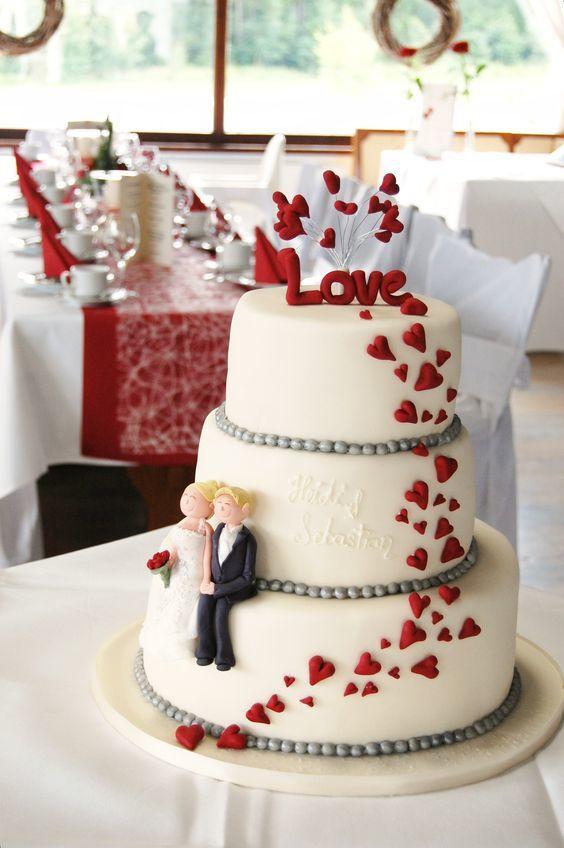Торт  на свадьбу  № 1003