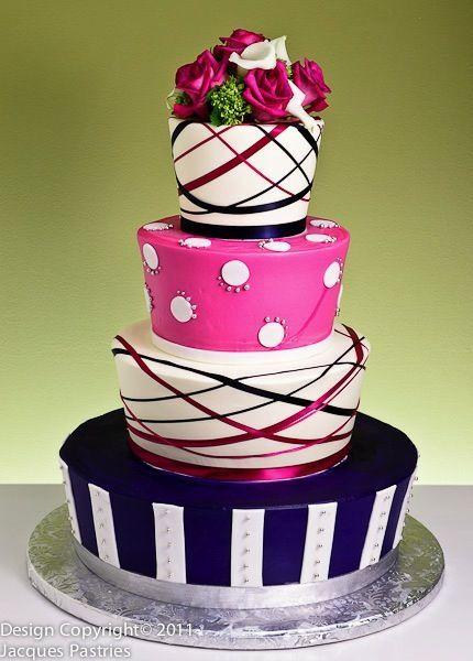 Торт  на свадьбу  № 1007