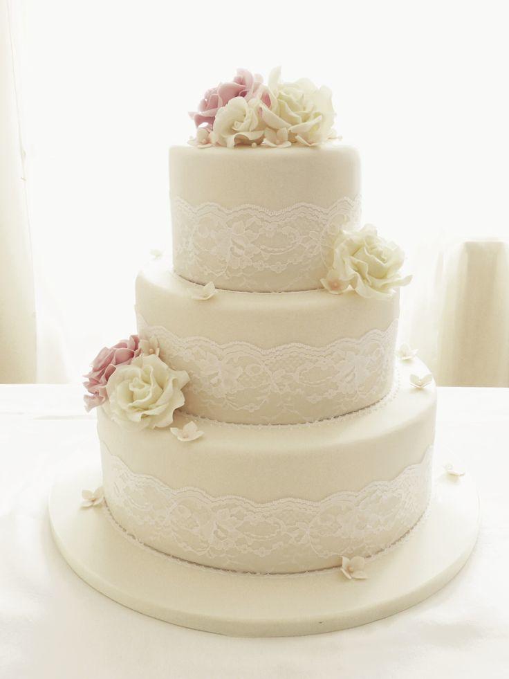 Торт  на свадьбу  № 1014