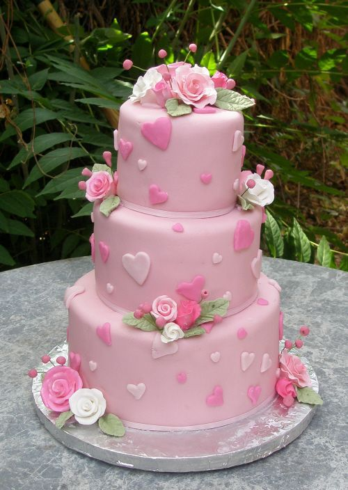 Торт  на свадьбу  № 1016