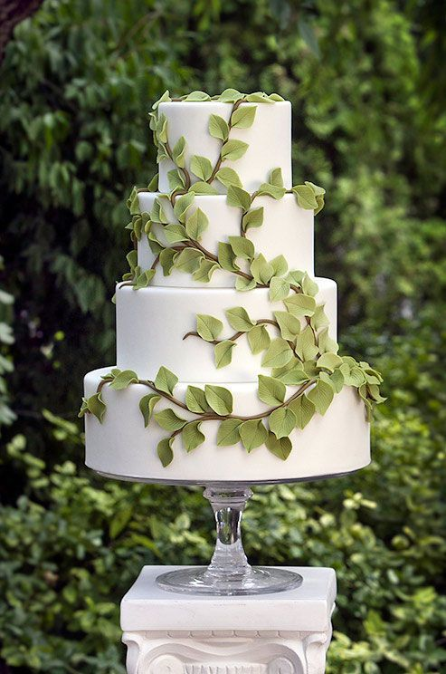 Торт  на свадьбу № 1023