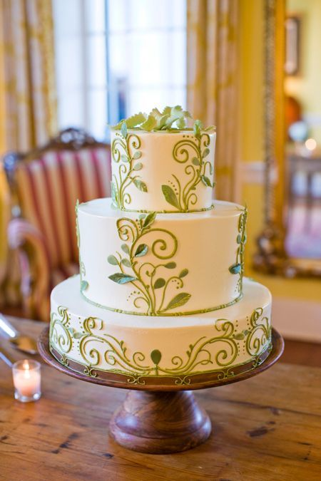 Торт  на свадьбу  № 1026