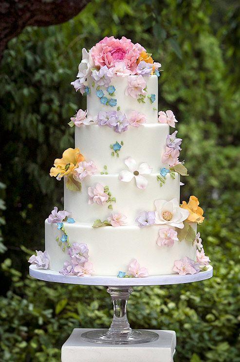 Торт  на свадьбу  № 1031