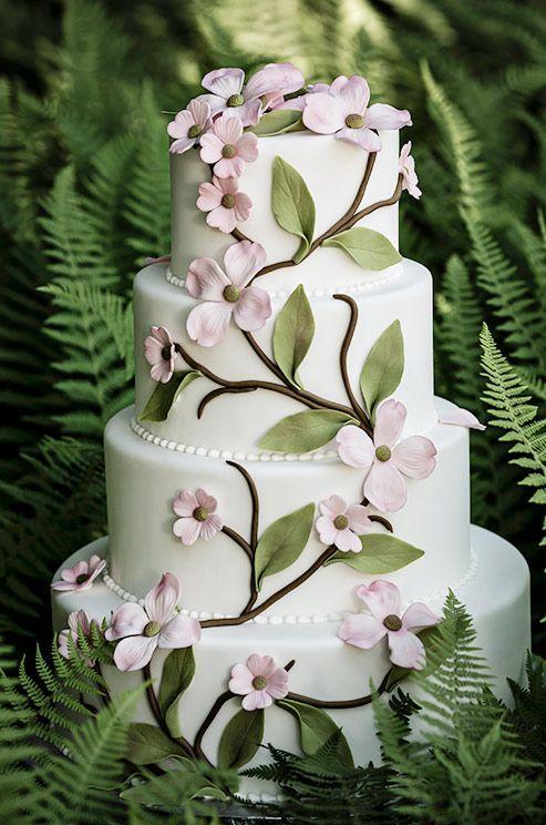 Торт  на свадьбу  № 1036