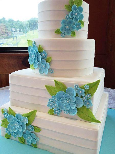 Торт  на свадьбу  № 1040