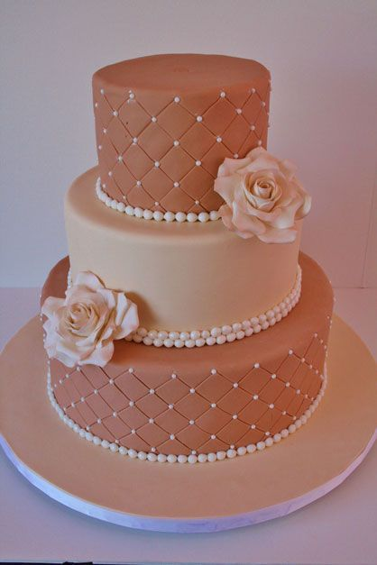 Торт  на свадьбу  № 1041