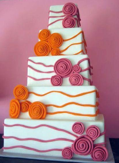 Торт  на свадьбу  № 1045