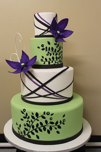 Торт  на свадьбу  № 1047