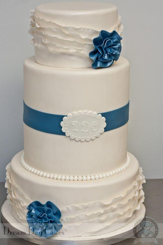 Торт  на свадьбу  № 1053