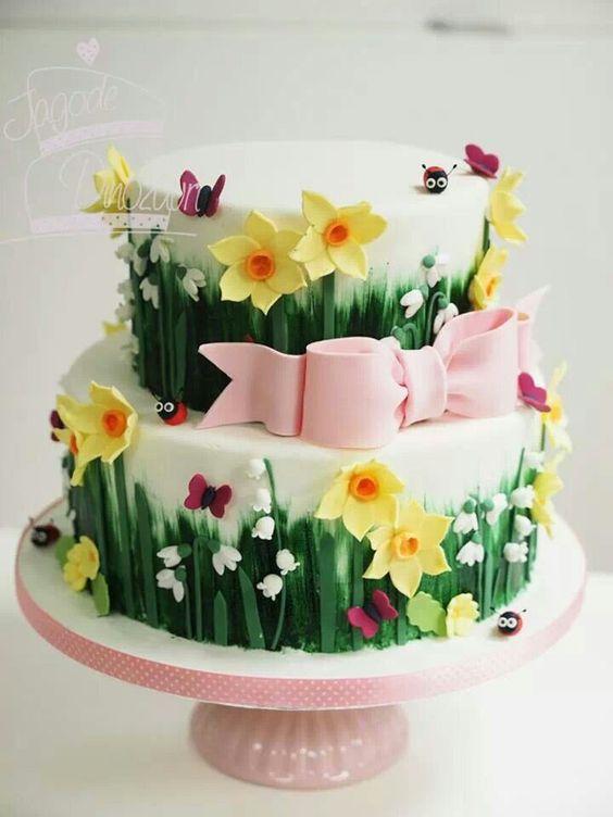 Торт  на день рождения  № 1057