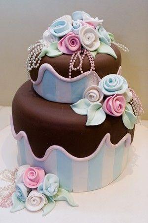 Торт  на день рождения  № 1058