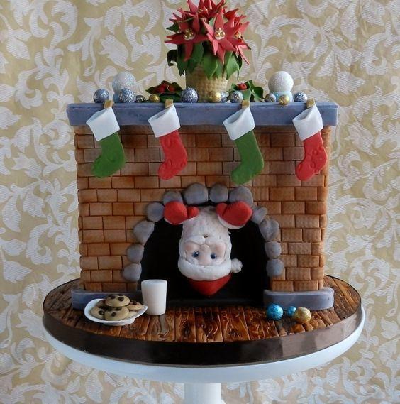 Торт  на Новый год  № 1070