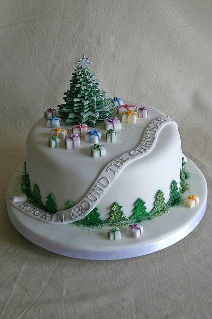 Торт  на Новый год  № 1077