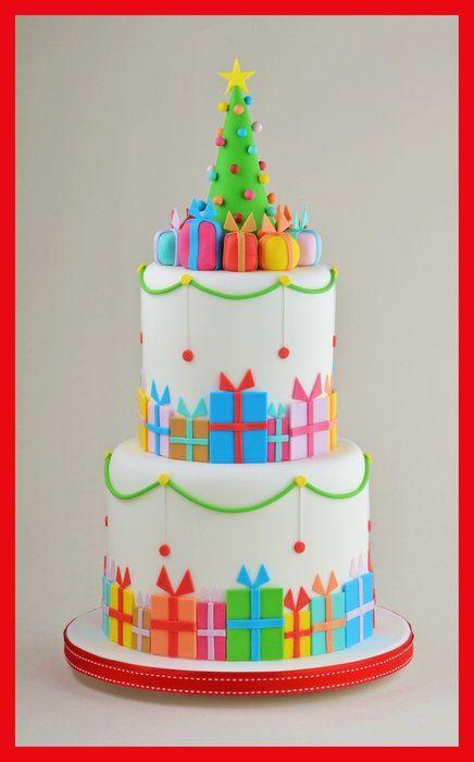 Торт  на Новый год  № 1079