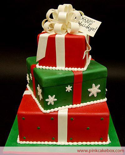 Торт  на Новый год  № 1080