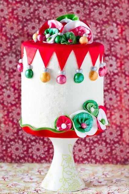 Торт  на Новый год  № 1081