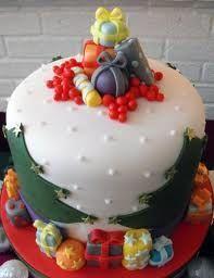 Торт  на Новый год  № 1082