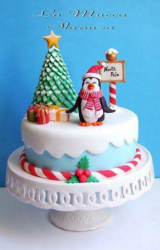 Торт  на Новый год  № 1084