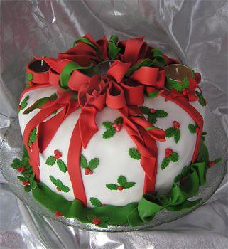 Торт  на Новый год  № 1085