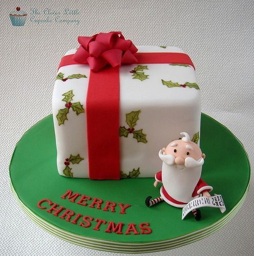Торт  на Новый год  № 1086