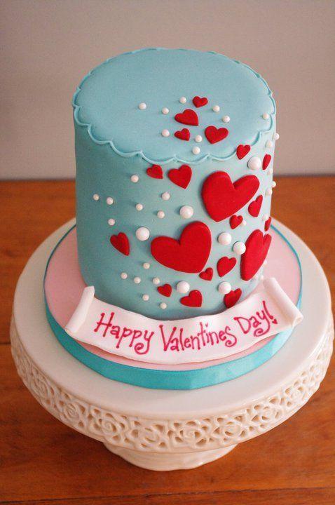 Торт  на День Святого Валентина  № 1097