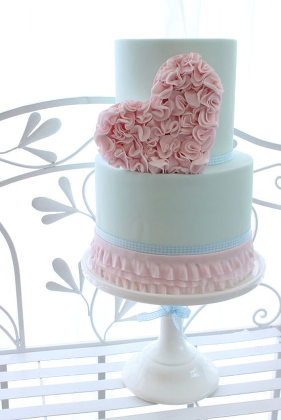 Торт  на День Святого Валентина  № 1099