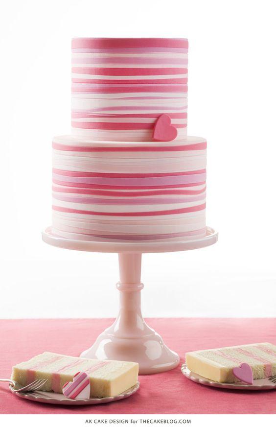 Торт  на День Святого Валентина  № 1100