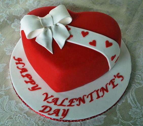 Торт  на День Святого Валентина  № 1101