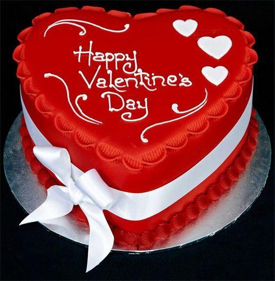 Торт  на День Святого Валентина  № 1102