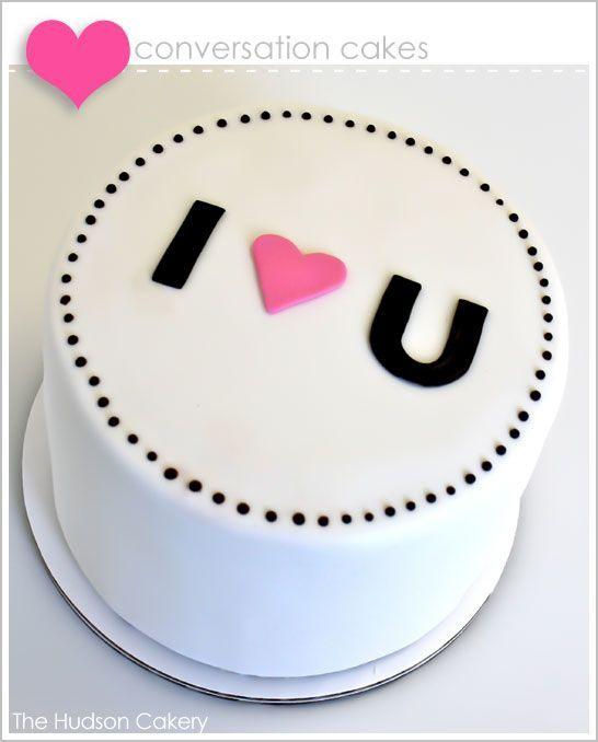 Торт  на День Святого Валентина  № 1106