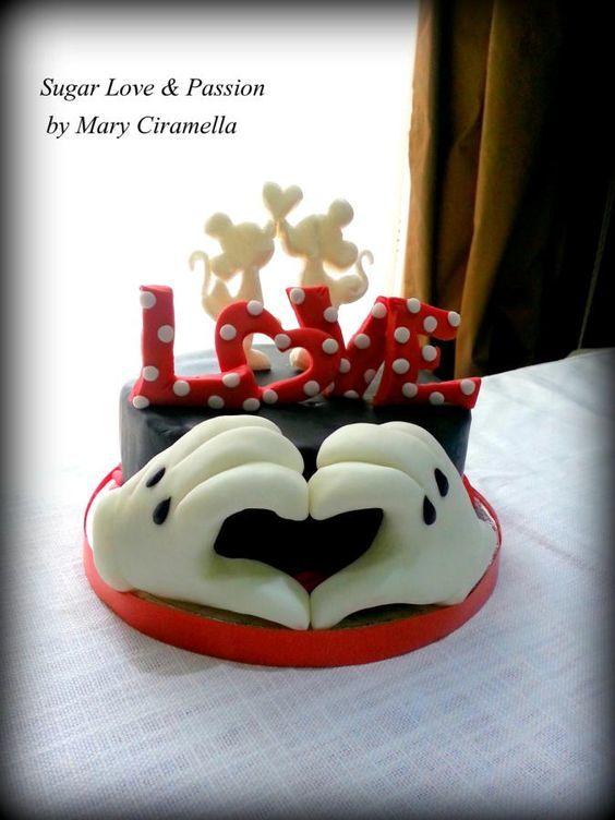 Торт  на День Святого Валентина  № 1110