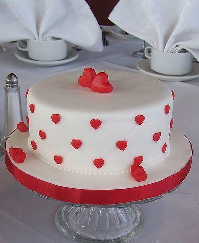 Торт  на День Святого Валентина  № 1116