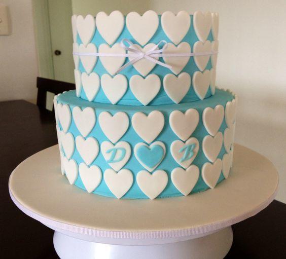 Торт  на День Святого Валентина  № 1118