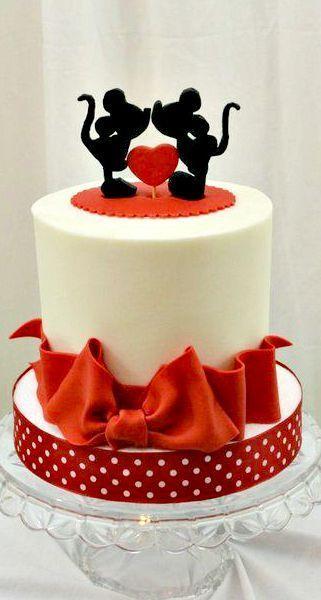 Торт  на День Святого Валентина  № 1120