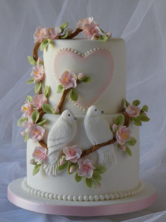 Торт  на День Святого Валентина  № 1121