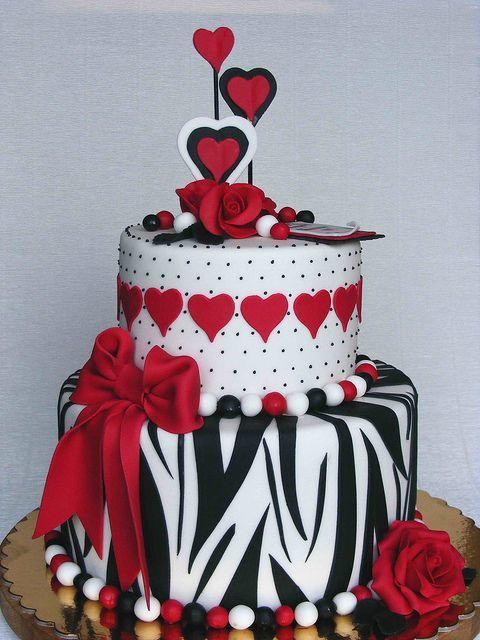 Торт  на День Святого Валентина  № 1124