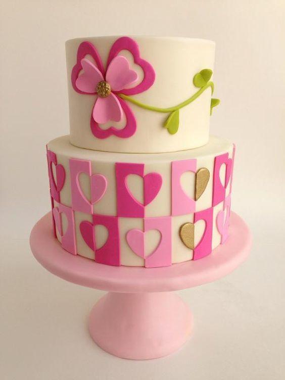 Торт  на День Святого Валентина  № 1129