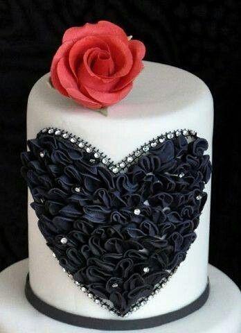 Торт  на День Святого Валентина  № 1131