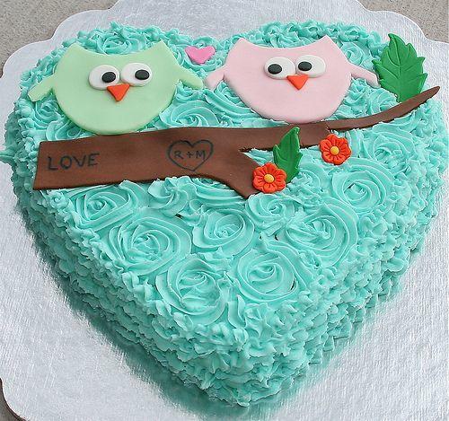 Торт  на День Святого Валентина  № 1133
