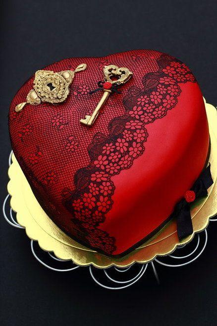 Торт  на День Святого Валентина  № 1138