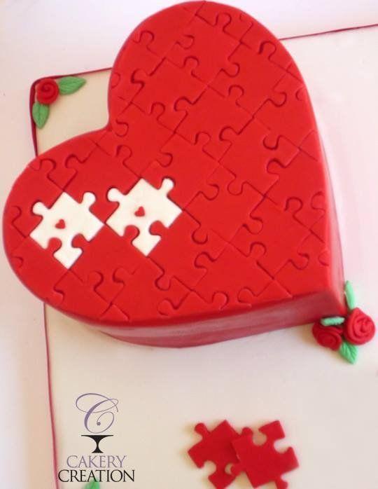 Торт  на День Святого Валентина  № 1139