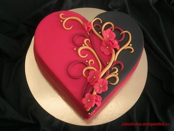 Торт  на День Святого Валентина  № 1140