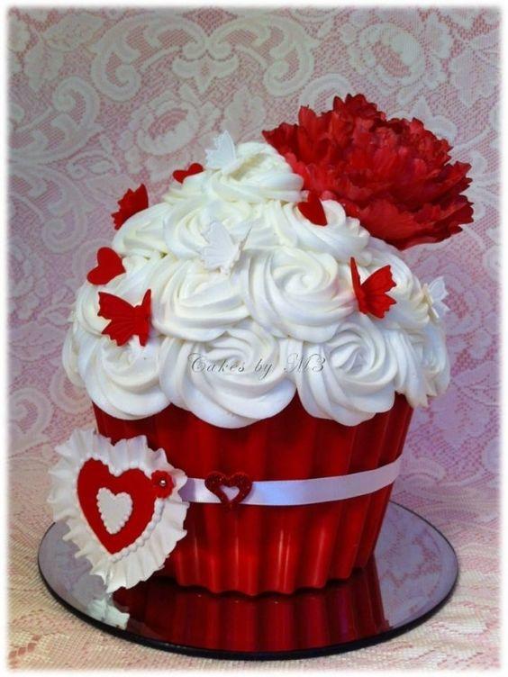 Торт  на День Святого Валентина  № 1144
