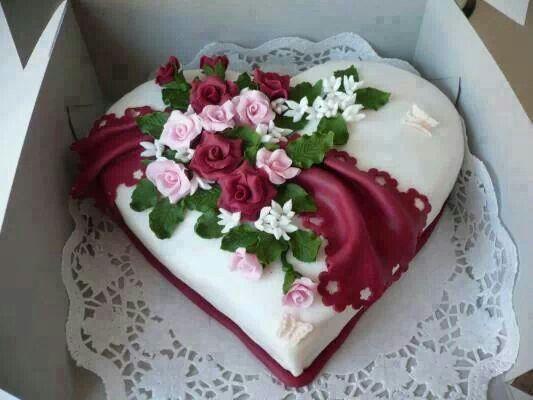 Торт  на День Святого Валентина  № 1146