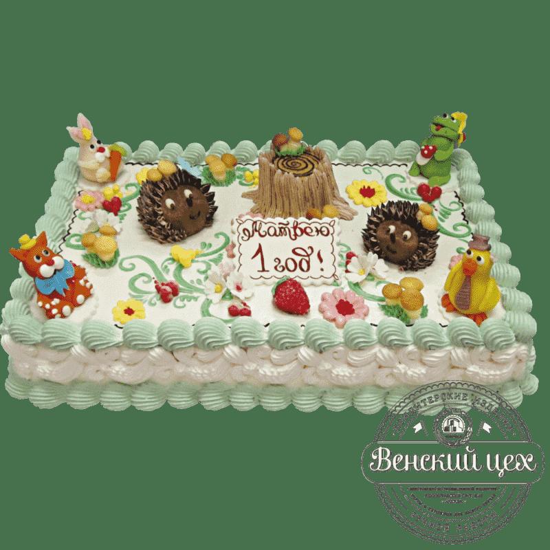 """Торт детский """"Лесная поляна"""" №115"""