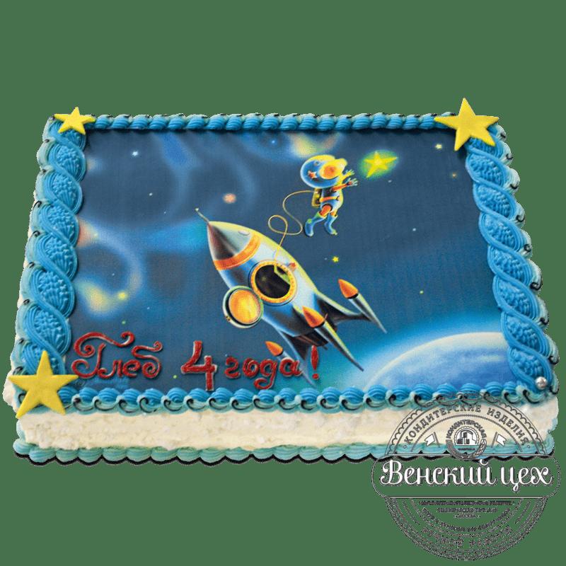 Торт детский «На небо за звездой» №1157