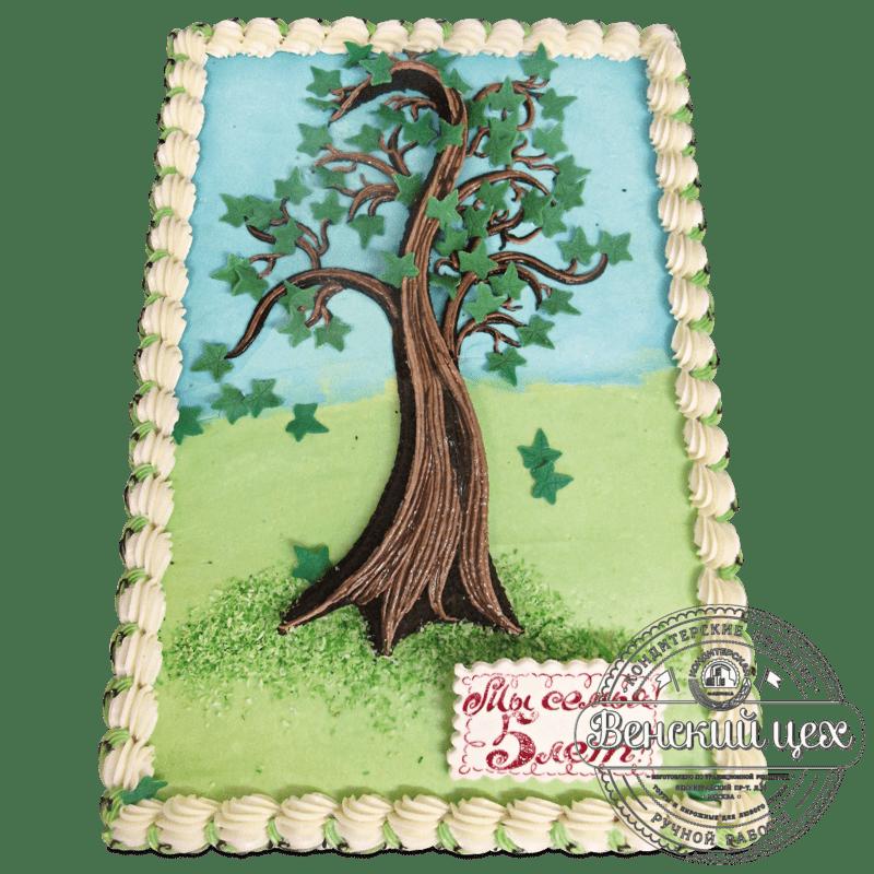 Торт на праздник «Семейное древо» №1165