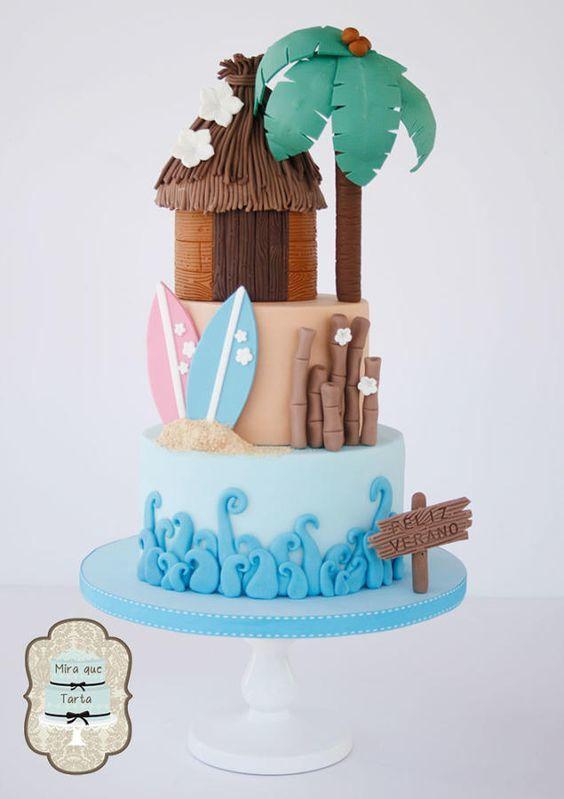 Торт  на день рождения  № 1180